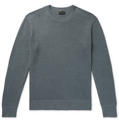 Club Monaco - Textured Linen and Cotton-Blend Sweater