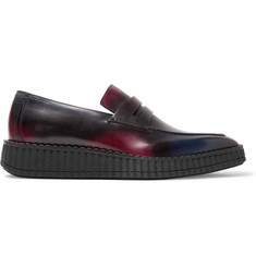 Berluti Andy Demesure Venezia Leather Loafers