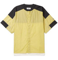 AMBUSH® Collarless Colour-Block Shell Shirt