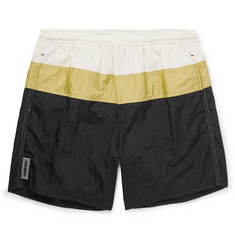 AMBUSH® Wide-Leg Mid-Length Colour-Block Swim Shorts