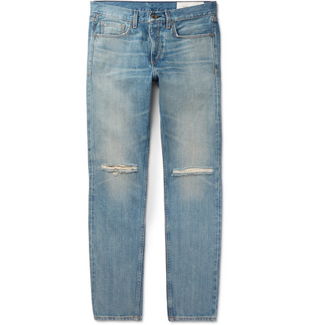 Fit 2 Slim Fit Distressed Denim Jeans by Rag & Bone
