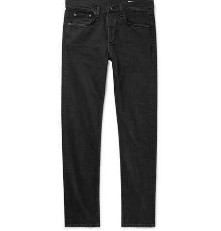 RAG & BONE | Rag & bone - Fit 2 Slim-fit Stretch-denim Jeans - Black | Goxip
