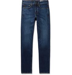Fit 2 Slim-fit Stretch-denim Jeans - Blue