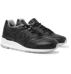 New Balance M997 Full-Grain Leather Sneakers