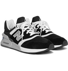 New Balance MS997 Suede, Nubuck and Mesh Sneakers