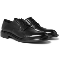 O'Keeffe Felix Polished-Leather Derby Shoes