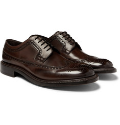 O'Keeffe - Felix Polished-Leather Longwing Brogues