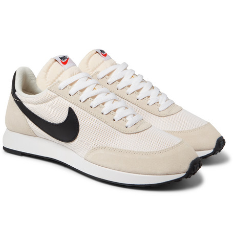 sports shoes be144 0873e NikeAir Tailwind 79 Mesh, Suede and Leather Sneakers