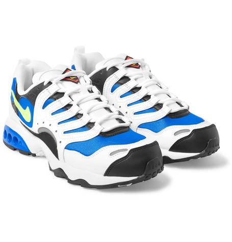 d581c45994ce Nike - Air Terra Humara  18 Faux Leather and Mesh Sneakers