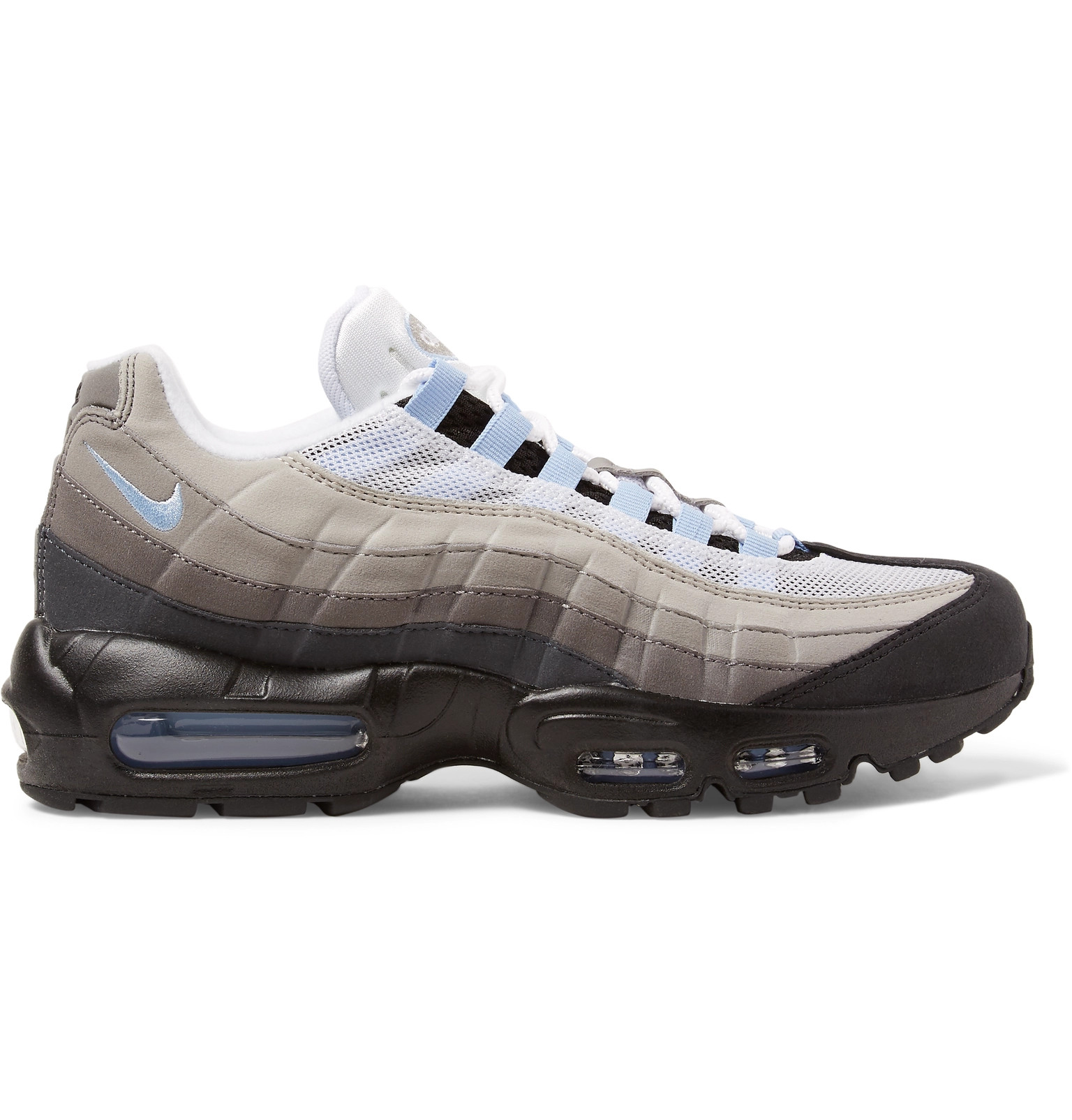timeless design 8b2a7 384bd NikeAir Max 95 Mesh and Suede Sneakers.  170. Tap to Close. 1