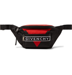 Givenchy Logo-Jacquard Shell Belt Bag
