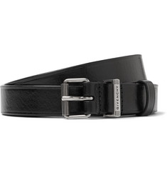 Givenchy - 3cm Black Leather Belt