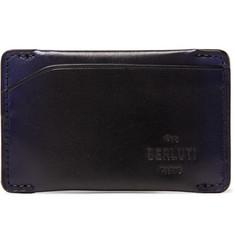 Easy Epure Leather Cardholder - Black