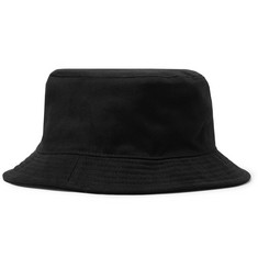 Acne Studios Eyelet-Embellished Cotton-Twill Bucket Hat