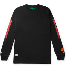 Heron Preston Logo-Print Cotton-Jersey T-Shirt