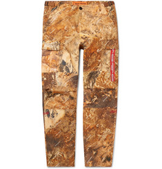 Heron Preston Printed Cotton Cargo Trousers