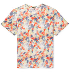 Isabel Marant Payton Tie-Dyed Cotton-Jersey T-Shirt
