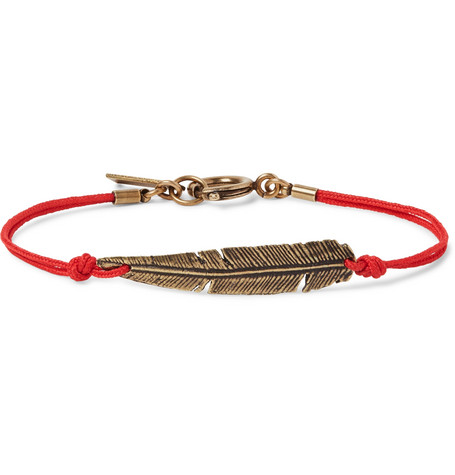 Cord And Gold Tone Bracelet by Isabel Marant