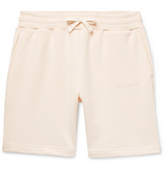 Aimé Leon Dore Logo-Embroidered Loopback Cotton-Jersey Drawstring Shorts