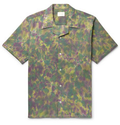 Aimé Leon Dore - Camp-Collar Tie-Dyed Cotton-Blend Seersucker Shirt