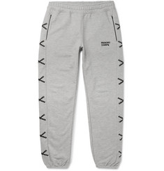 Resort Corps Embroidered Loopback Cotton-Jersey Sweatpants