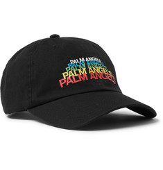 Palm Angels Logo-Print Cotton-Twill Baseball Cap