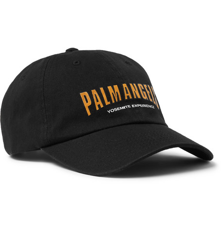 865743fb10b Palm Angels - Logo-Print Cotton-Twill Baseball Cap
