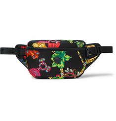 Versace Printed Nylon Belt Bag