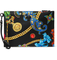Versace Printed Nylon Pouch