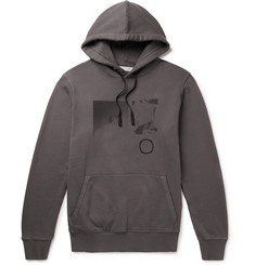 1017 ALYX 9SM Printed Fleece-Back Cotton-Jersey Hoodie