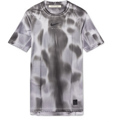 1017 ALYX 9SM + Nike Mesh-Panelled Logo and Camouflage-Print Stretch-Jersey T-Shirt