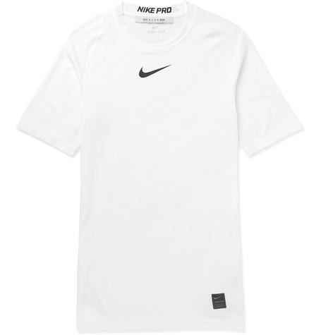 a36daac945d00f 1017 ALYX 9SM - + Nike Logo-Print Mesh-Panelled Stretch-Jersey T ...