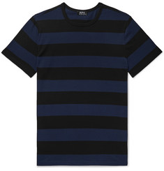 A.P.C. Archie Striped Cotton-Jersey T-Shirt