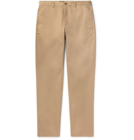 florian-cotton-gabardine-chinos by apc