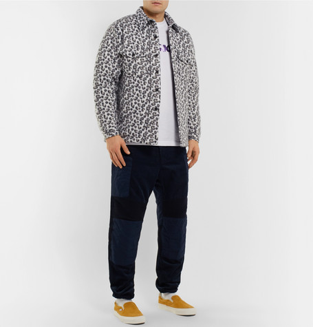 Jacket Fleece Print Noon Goons Leopard Shirt wqpq8PXU