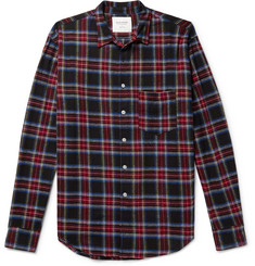 Noon Goons - Checked Cotton-Flannel Shirt