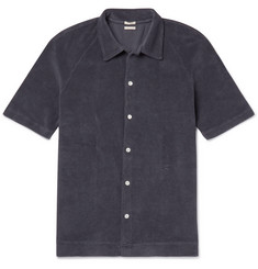 Massimo Alba Cotton-Terry Shirt