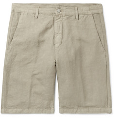 Massimo Alba - Linen and Cotton-Blend Shorts