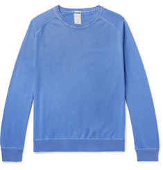 Massimo Alba Garment-Dyed Cotton and Cashmere-Blend Sweater