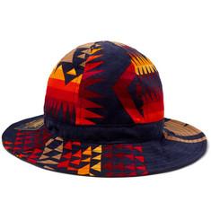 f25b985b801 Sacai - + Pendleton Printed Cotton-Corduroy Bucket Hat