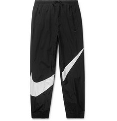 Nike Tapered Logo-Print Nylon Track Pants