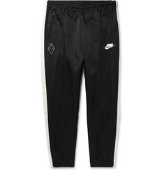 Nike Sportswear Tapered Striped Nylon Track Pants