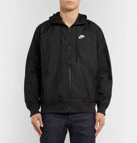 8a97740f3ea8 Nike Windrunner Shell Hooded Jacket - Black