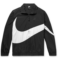 e5504f68c4209e Nike Logo-Print Nylon Track Jacket