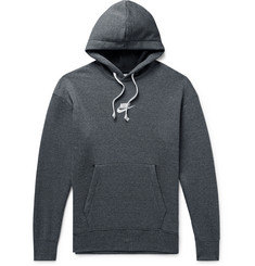 Nike Logo-Embroidered Loopback Cotton-Blend Jersey Hoodie