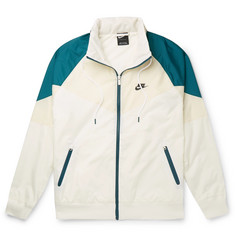 Nike Windrunner Colour-Block Shell Half-Zip Jacket