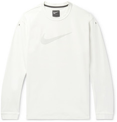 Nike Appliquéd Stretch Cotton-Blend Jersey T-Shirt
