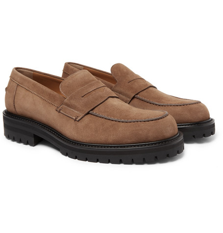 Jacques Suede Loafers - Light brown