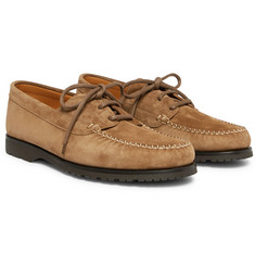 Mr P. - Dennis Suede Boat Shoes