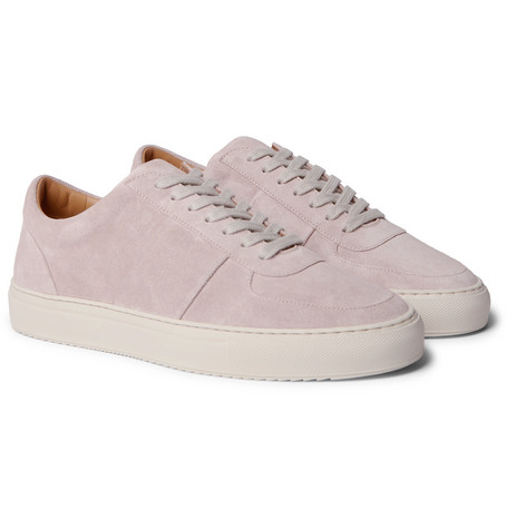 Mr P. Larry Suede Sneakers In Pink